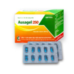 AUSAGEL 250 (Viên nang mềm) Làm mềm phân, trị táo bón